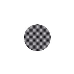 Polka Dot Black  1  Mini Buttons by TimelessDesigns