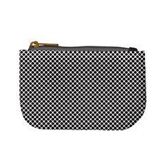 Polka Dot Black  Mini Coin Purse