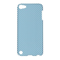 Polka Dot Blue  Apple Ipod Touch 5 Hardshell Case