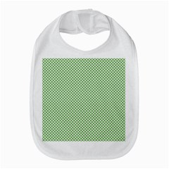 Polka Dot Green Bib