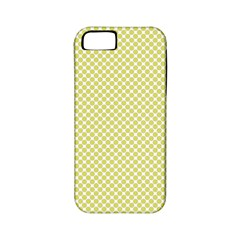 Polka Dot Yellow  Apple Iphone 5 Classic Hardshell Case (pc+silicone)