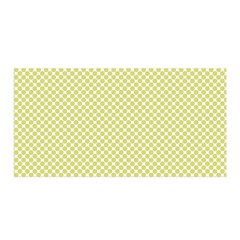 Polka Dot Yellow  Satin Wrap