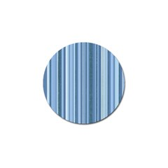 Stripes In Blue Golf Ball Marker (10 Pack) by TimelessDesigns