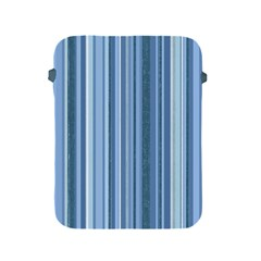 Stripes In Blue Apple Ipad 2/3/4 Protective Soft Cases
