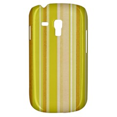 Stripes In Yellow Samsung Galaxy S3 Mini I8190 Hardshell Case