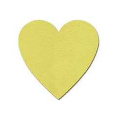 Yellow Fever Heart Magnet by TimelessDesigns