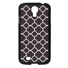 Vintage Tile Black  Samsung Galaxy S4 I9500/ I9505 Case (black)