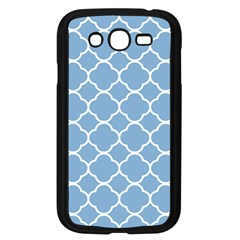 Vintage Tile Blue  Samsung Galaxy Grand Duos I9082 Case (black)