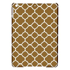 Vintage Tile Brown  Ipad Air Hardshell Cases by TimelessDesigns