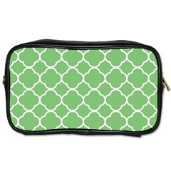 Vintage Tile Green  Toiletries Bag (two Sides)