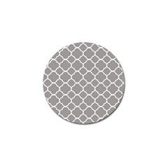 Vintage Tile Grey  Golf Ball Marker by TimelessDesigns