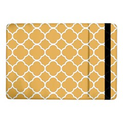 Vintage Tile Orange  Samsung Galaxy Tab Pro 10 1  Flip Case by TimelessDesigns