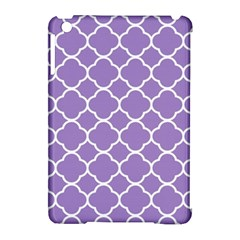 Vintage Tile Purple  Apple Ipad Mini Hardshell Case (compatible With Smart Cover) by TimelessDesigns