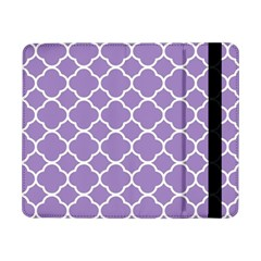 Vintage Tile Purple  Samsung Galaxy Tab Pro 8 4  Flip Case by TimelessDesigns