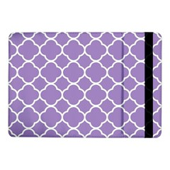 Vintage Tile Purple  Samsung Galaxy Tab Pro 10 1  Flip Case by TimelessDesigns