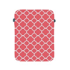 Vintage Tile Red  Apple Ipad 2/3/4 Protective Soft Cases by TimelessDesigns