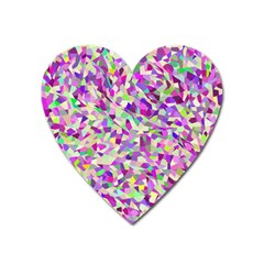 Verba Heart Magnet by artifiart