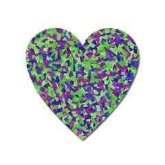 Nocturnal Heart Magnet by artifiart