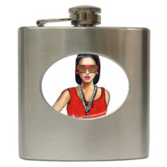 Pretty Woman Hip Flask (6 Oz)