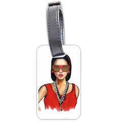 Pretty Woman Luggage Tags (one Side)
