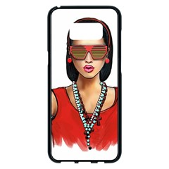 Pretty Woman Samsung Galaxy S8 Plus Black Seamless Case