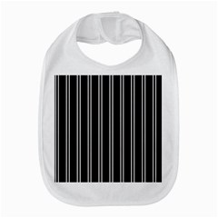 Nice Stripes Black Bib by TimelessDesigns