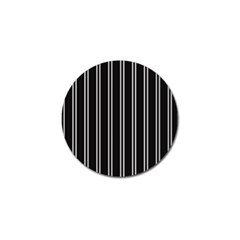 Nice Stripes Black Golf Ball Marker (10 Pack) by TimelessFashion