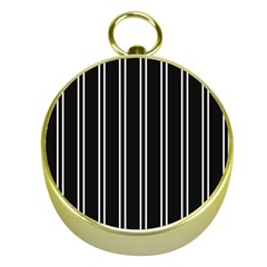 Nice Stripes Black Gold Compasses by FEMCreations
