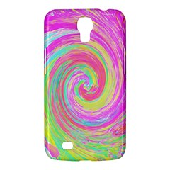 Groovy Abstract Pink And Blue Liquid Swirl Painting Samsung Galaxy Mega 6 3  I9200 Hardshell Case