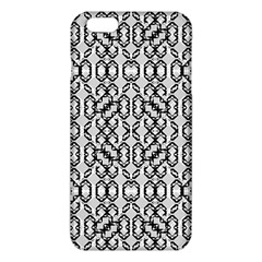 Black And White Intricate Modern Geometric Pattern Iphone 6 Plus/6s Plus Tpu Case by dflcprintsclothing