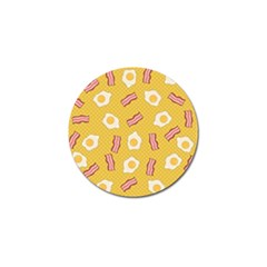 Bacon And Egg Pop Art Pattern Golf Ball Marker (4 Pack)