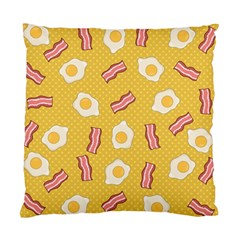 Bacon And Egg Pop Art Pattern Standard Cushion Case (one Side)