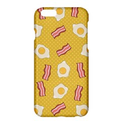 Bacon And Egg Pop Art Pattern Apple Iphone 6 Plus/6s Plus Hardshell Case