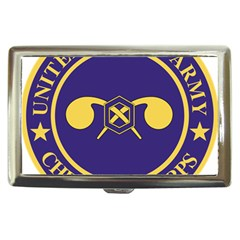 Seal Of Chemical Corps Of U S  Army Cigarette Money Case by abbeyz71