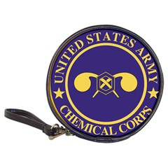 Seal Of Chemical Corps Of U S  Army Classic 20 Cd Wallets