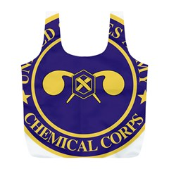 Seal Of Chemical Corps Of U S  Army Full Print Recycle Bag (l) by abbeyz71