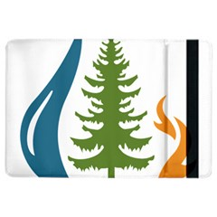 Forest Christmas Tree Spruce Ipad Air 2 Flip by Desi8484