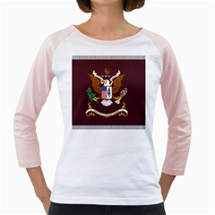 U S  Army Medical Department Regimental Flag Girly Raglan by abbeyz71