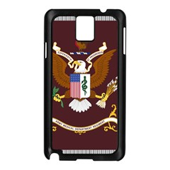 U S  Army Medical Department Regimental Flag Samsung Galaxy Note 3 N9005 Case (black) by abbeyz71