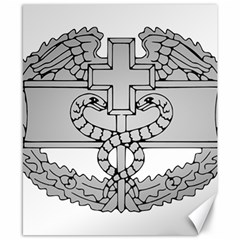U S  Army Combat Medical Badge Canvas 8  X 10  by abbeyz71