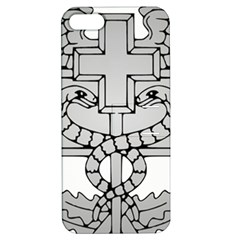U S  Army Combat Medical Badge Apple Iphone 5 Hardshell Case With Stand by abbeyz71
