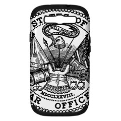 Seal Of U S  Department Of War, 1789 1947 Samsung Galaxy S Iii Hardshell Case (pc+silicone)
