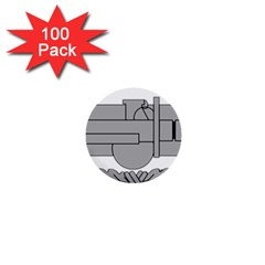 U S  Army Combat Action Badge 1  Mini Buttons (100 Pack)