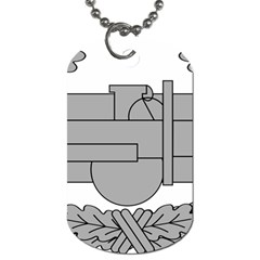U S  Army Combat Action Badge Dog Tag (one Side) by abbeyz71