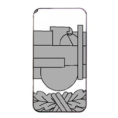 U S  Army Combat Action Badge Apple Iphone 4/4s Seamless Case (black)