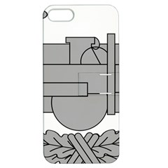 U S  Army Combat Action Badge Apple Iphone 5 Hardshell Case With Stand by abbeyz71