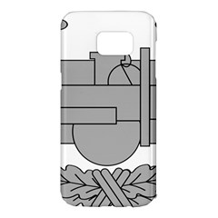 U S  Army Combat Action Badge Samsung Galaxy S7 Edge Hardshell Case