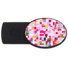 The Framework Paintings Square Usb Flash Drive Oval (4 Gb)