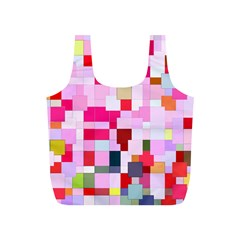 The Framework Paintings Square Full Print Recycle Bag (s) by Pakrebo