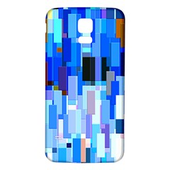 Color Colors Abstract Colorful Samsung Galaxy S5 Back Case (white)